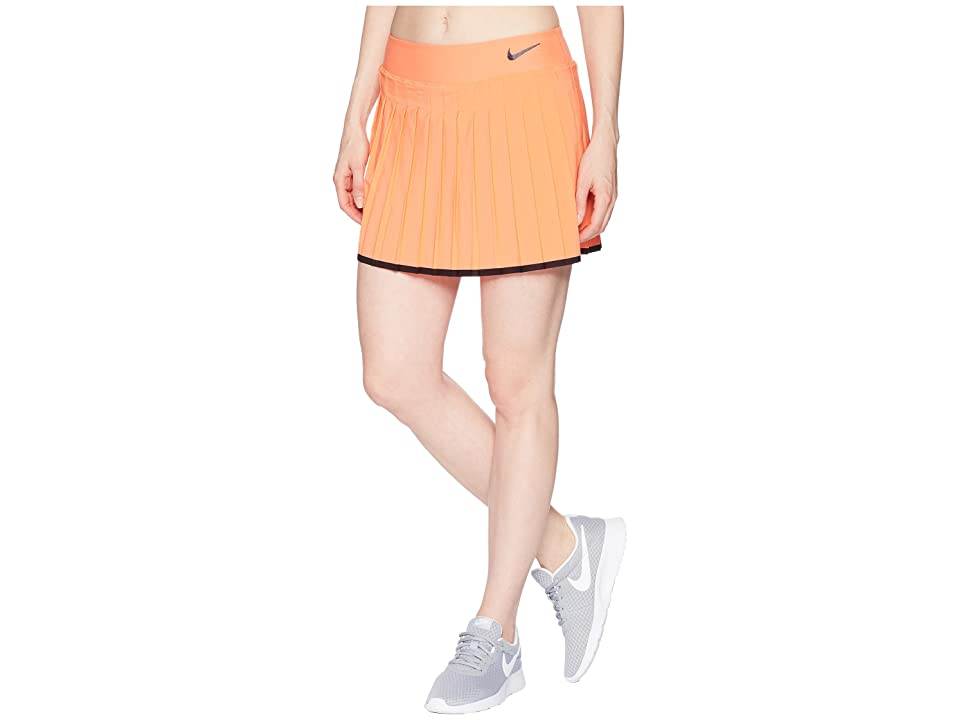 Nike Victory Skirt (Light Wild Mango/Black) Women