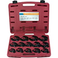 "Neiko 03325A Jumbo Crowfoot Wrench Set 1/2 Inch Drive, SAE, 14 Piece Set | Includes Sizes: 1-1/16""-2"