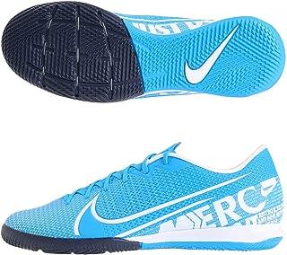 Nike Men's Vapor 13 Academy IC Soccer Shoes (Blue Hero/White) (8.5 Women / 7 Men M US)
