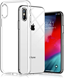 mobile store Slim Fit iPhone XS-X Uyumlu Kılıf, Ultra İnce Yumuşak Silikon Jel Kapak, Kablosuz Şarj Uyumlu