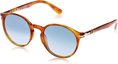 Persol Men's Terra Di Siena Round Sunglasses
