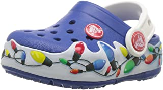 crocs ' crocslights 假期 K 儿童洞洞鞋