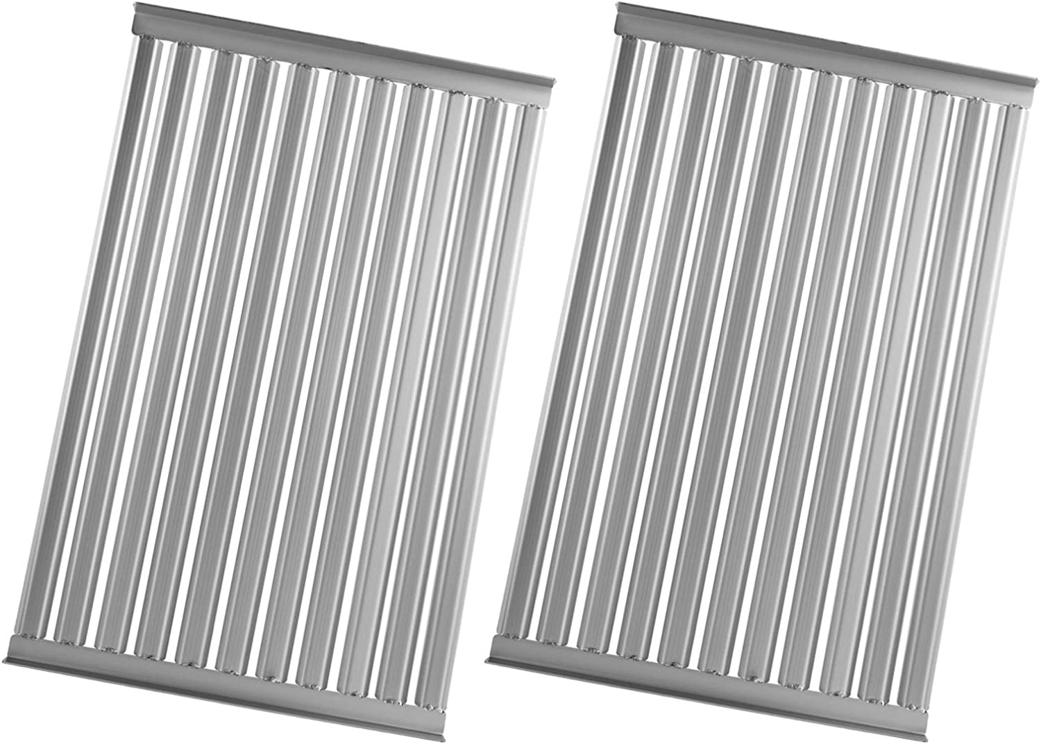 MixRBBQ 2 Pack Popular brand Stainless Steel Gas for 27-In Max 89% OFF Grill Solaire Grate