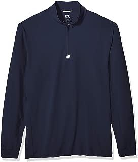 Men's Drytec UPF 50+ Double Knit Jersey Traverse Half Zip Pullover