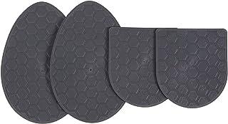 [バリューアンドサプライ] 靴 すべり止め ダブル パッド つま先 & かかと ツルツルした靴底 凹凸のある靴底 に貼れます