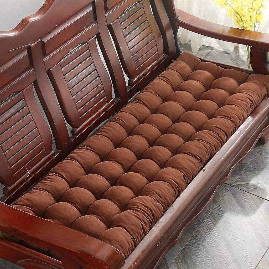 UHNGE-ER Thick Bench Cushion Garden Pad Seat Chair Classic Year-end annual account Recta
