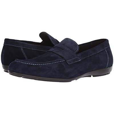 Bruno Magli Benito (Navy Suede) Men