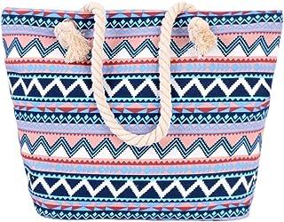 Women Canvas Handbag Tote Bag Shoulder Bag Summer Beach Carry Bag