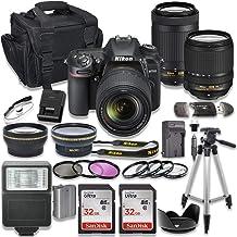 $1199 » Nikon D7500 DSLR Camera with AF-S 18-140mm VR Lens + Nikon AF-P 70-300mm f/4.5-6.3G ED Lens + 2pc SanDisk 32GB Memory Cards + Accessory Kit
