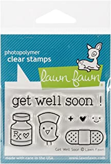 Lawn Fawn Clr Stamp Get Well