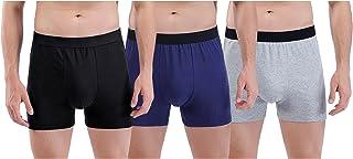 Sponsored Ad - Mens Underwear Boxer Briefs - CottonBoxer Briefs, Comfortable Trunks Briefs