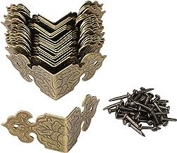 BQLZR decoratieve doos randbescherming randafdekking gegraveerd design vintage verpakking van 20