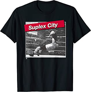 Suplex City Photo with Red Type Label
