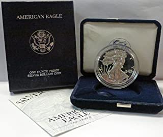 1999 P American 1 oz Silver Eagle Dollar PROOF US Mint