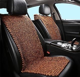 DIELIAN Rosewood Car Van Seat Cover Natural Madera Comfort Massage Cool Car Seat Cojín