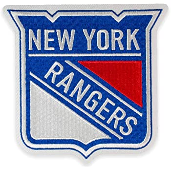 Amazon Com New York Rangers Primary Team Logo Patch Applique Patches Clothing