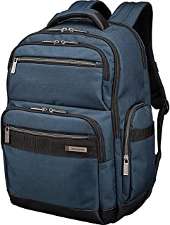 Samsonite Modern Utility GT Laptop Backpack - RFID-Blocking Passport Pocket - Fits Up To 15.6 Inch Laptops & Tablets - (Navy/Black)