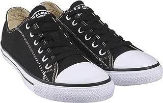 Lotto Men's Atlanta NEO Black/White Canvas Shoe 6