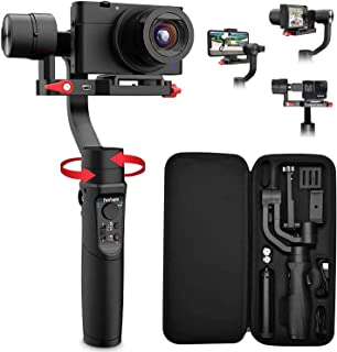 Hohem iSteady Multi All in 1 3-Axis Handheld Gimbal Stabilizer for Smartphones, Action Cameras and Digital Cameras with 8 ...
