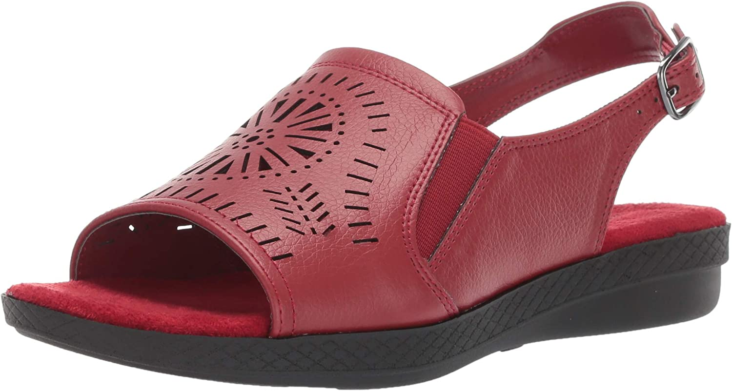 Easy Cash special price Max 56% OFF Street Women's Rose Comfort with Cutouts Sandal