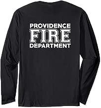 Providence Fire Rescue Rhode Island Firefighter Uniform Duty Long Sleeve T-Shirt