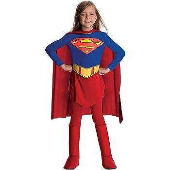 Rubies - Disfraz de Supergirl para Niña, Large (885215L): Amazon ...