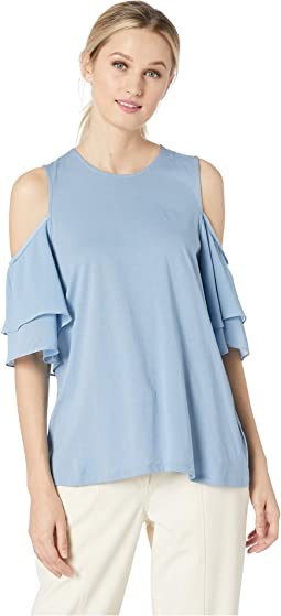 8078975e05de64 Ivanka trump matte jersey cold shoulder shirt, Clothing | Shipped ...