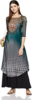 Indian Handicrfats Export W for Woman Women's Straight Kurta