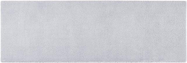 MADISON PARK SIGNATURE Bath Mat Bathroom Rugs, MPS72-164, Fabric, Grey, 24X72 Inches