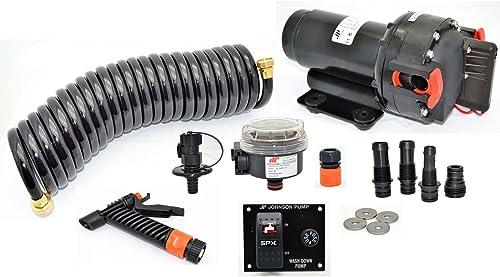 Johnson Pump 65434 Aqua Jet Wash Down 5.2 GPM Pump Kit - 12V