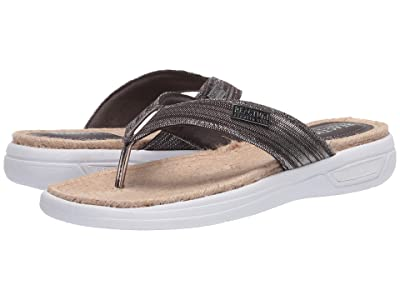 Kenneth Cole Reaction Ready Thong Espadrille (Pewter) Women
