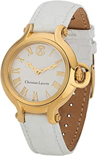 Christian Lacroix Dress Watch For Women Analog Leather - C CLW8006804SM