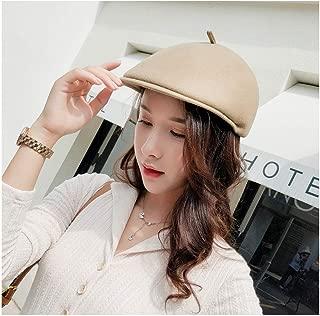 QinMei Zhou Autumn Winter Vintage Beret Military Hats Women Men Artist Cap Ladies Wool Felt Berets