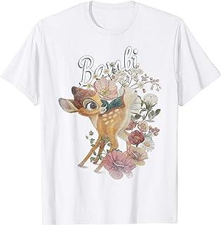 Disney Bambi Floral Portrait Maglietta