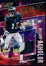 2018 Prestige Stars of the NFL Jerseys Prime Gold #17 Nelson Agholor MEM 09/25 Eagles Football NFL
