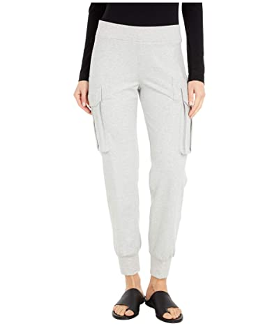 KAMALIKULTURE by Norma Kamali Cargo Jog Pants (Heather Grey) Women