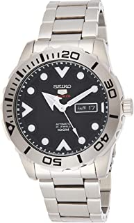 SEIKO Mens Automatic Watch, Analog Display and Stainless Steel Strap SRPA03J1