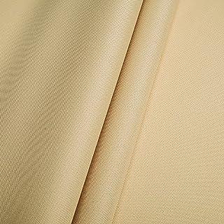 Polyester Oxford 600D 1lfm - Wasserdicht, Outdoor Stoff, Segeltuch, Abdeckplane Beige