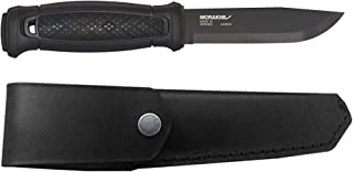 Morakniv Garberg Full Tang Fixed Blade Knife with Carbon Steel Blade, 4.3-Inch