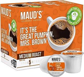 Sponsored Ad - Maud's Pumpkin Spice Coffee (Great Pumpkin Mrs. Brown), 24ct. Recyclable Single Serve Pumpkin Spice Flavore...