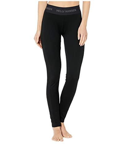 Helly Hansen Lifa Merino Pants (Black) Women