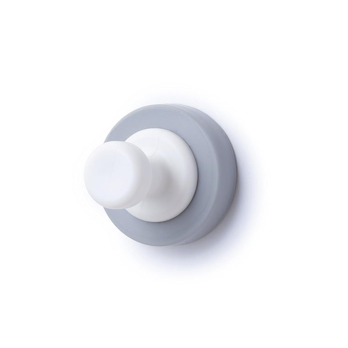 資格情報トラフィック作成するマグエバー(mAGEVER) シリコンマグネット ホワイト 直径3.1×厚み2.8cm iフック