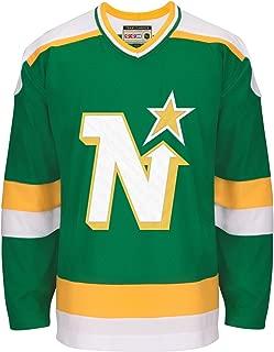 adidas Minnesota North Stars CCM NHL Men's Team Classic Authentic Green Jersey