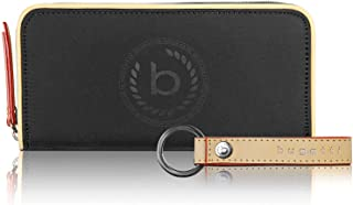 Bugatti Lido Geldbörse Damen Groß RFID - Frauen Geldbeutel mit Reißverschluss Lang - Damengeldbörse Langbörse Portemonnaie...