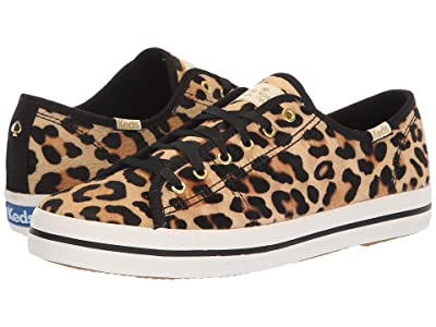 Keds x kate spade new york Kickstart KS Leopard (Tan) Women