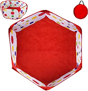 POCO DIVO Toddler Playpen Polka Dot Ball Pit 47