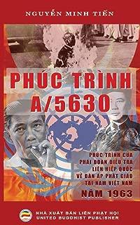 Phuc trinh A/5630: Phuc trinh cua Phai doan dieu tra Lien Hiep Quoc ve van de dan ap  Phat giao tai mien Nam Viet Nam nam 1963