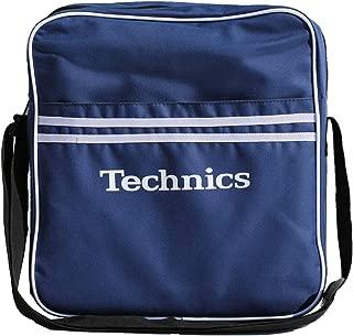 Technics Retro DJ Messenger Bag, 37 cm, 7 liters, Blue