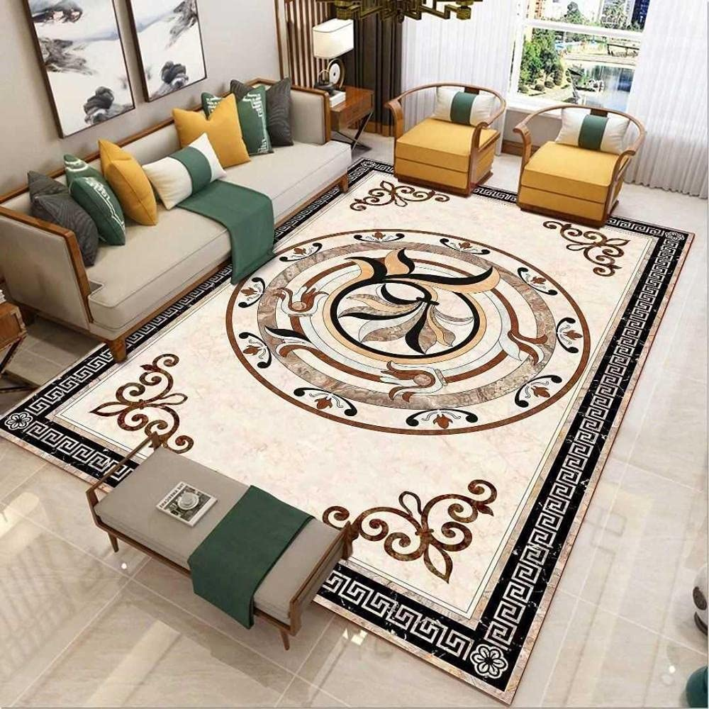 Ivory Traditional Area Rug Easy Max Branded goods 52% OFF to Thick Floral Clean Soft Liv