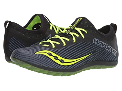 Saucony Havok XC2 Flat (Black/Citron) Men